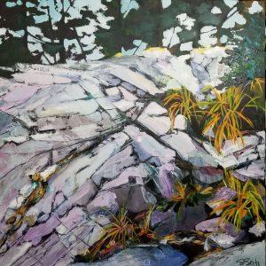 Landscape Limestone and Ledge Rock Northern Ontario