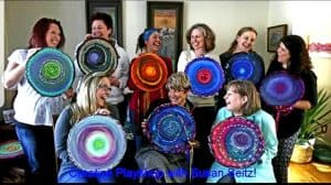 Mandala art with susan seitz canadian artist