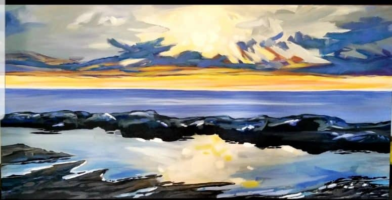 SOLD - Lake Huron Sunset