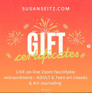 GIFT CERTIFICATES LIVE ZOOM